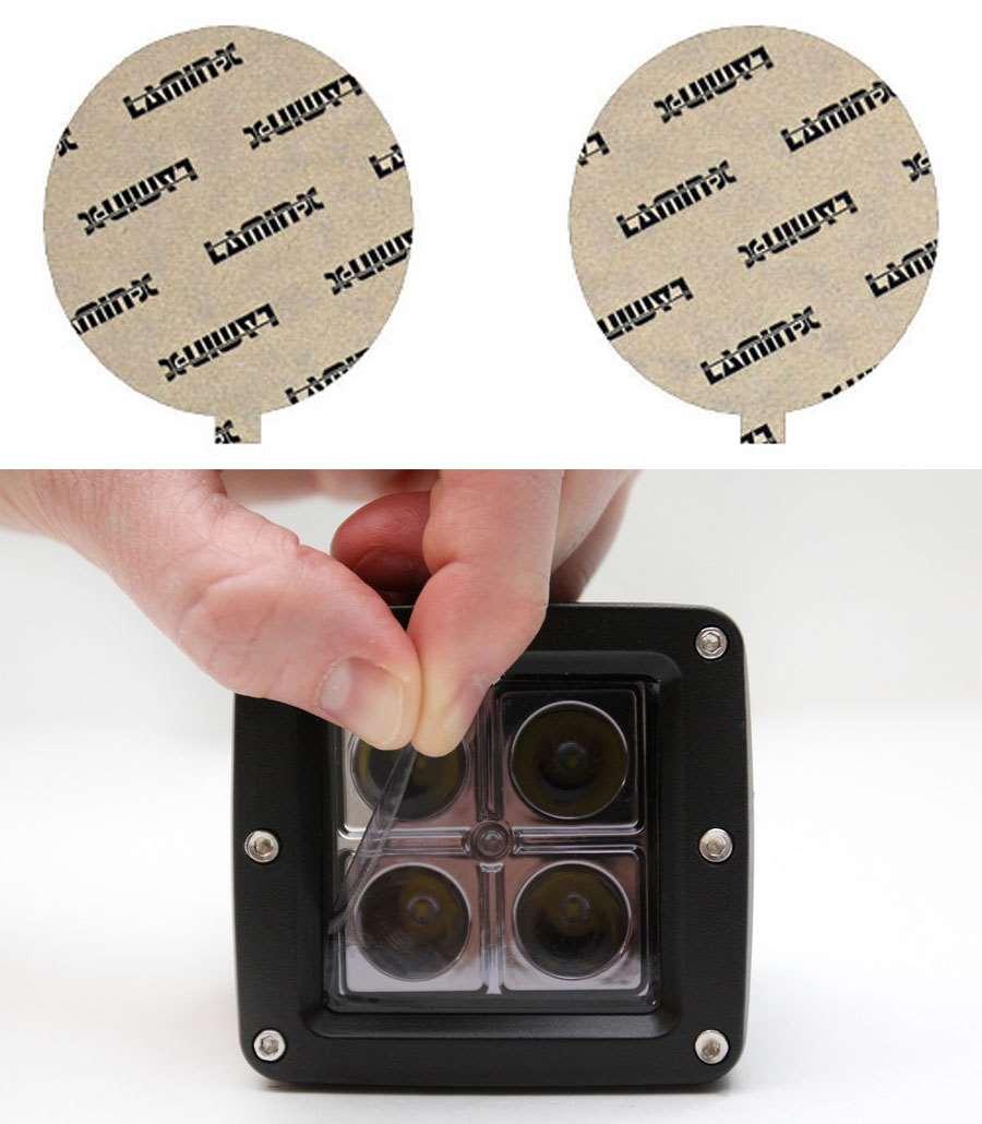 Nissan Titan 04-15 Tint Fog Light Covers Lamin-X N108T