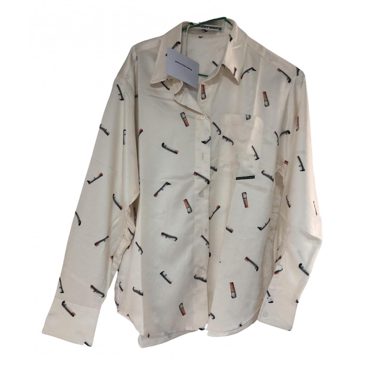 Camisa de Seda Alexander Wang