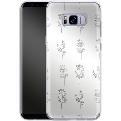 Samsung Galaxy S8 Plus Silikon Handyhuelle - Botanic Studies von Lucy Bohr