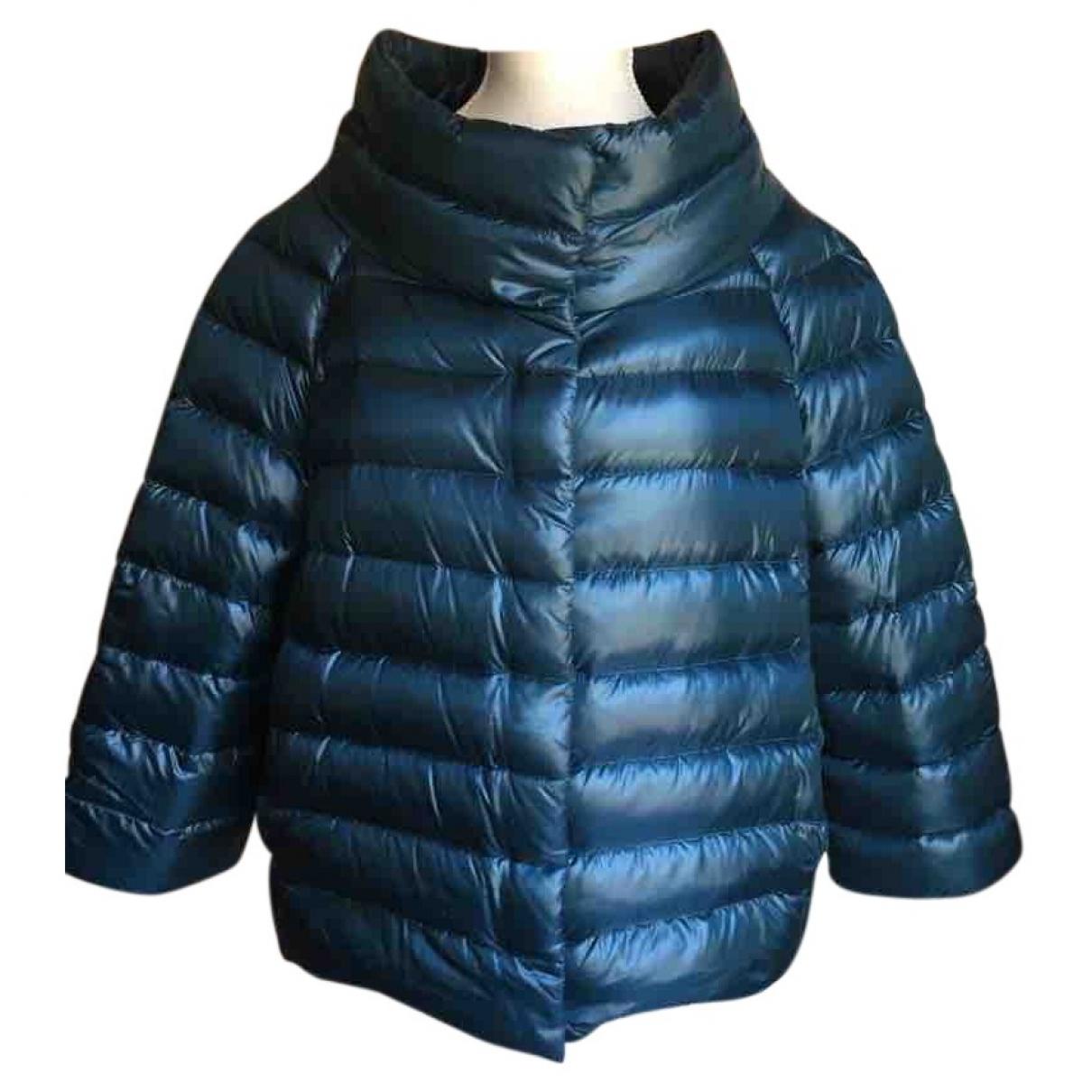 Herno - Manteau   pour femme en coton - metallise