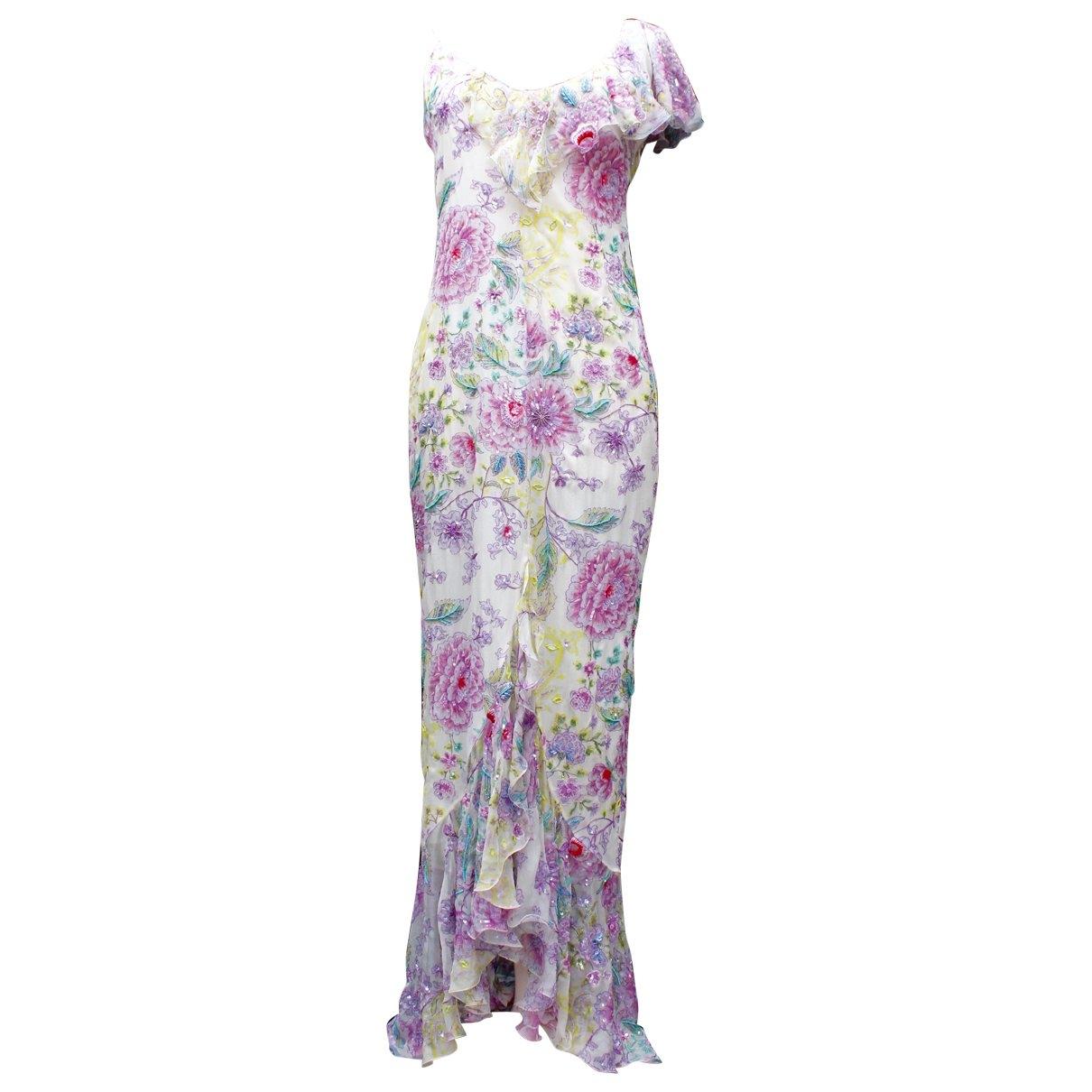 Emanuel Ungaro \N Multicolour Silk dress for Women 36 FR