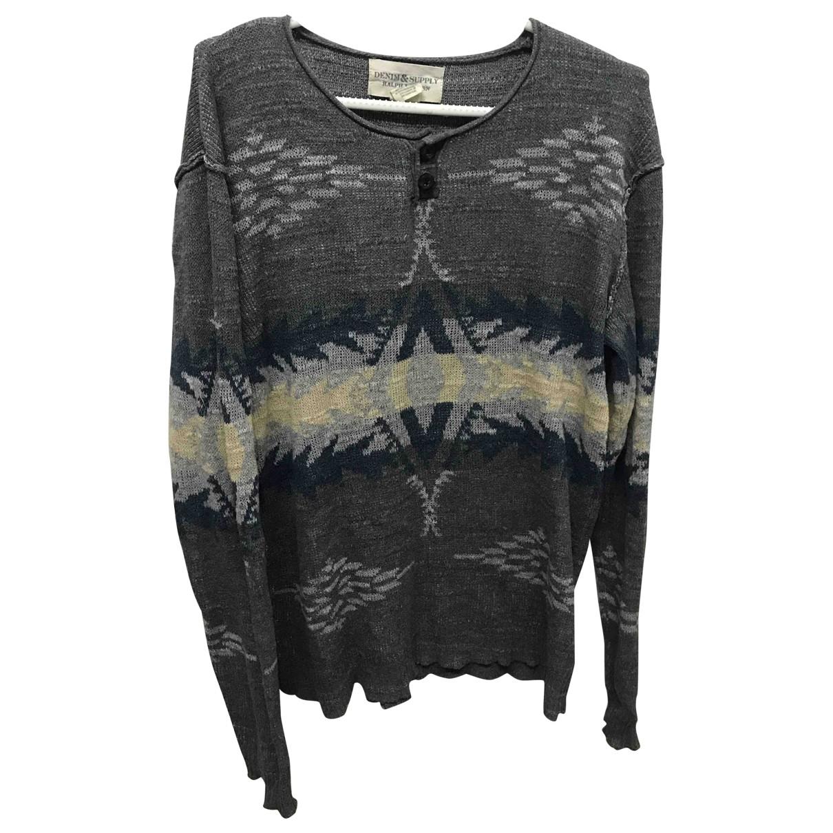 Ralph Lauren Denim & Supply \N Pullover.Westen.Sweatshirts  in  Bunt Baumwolle