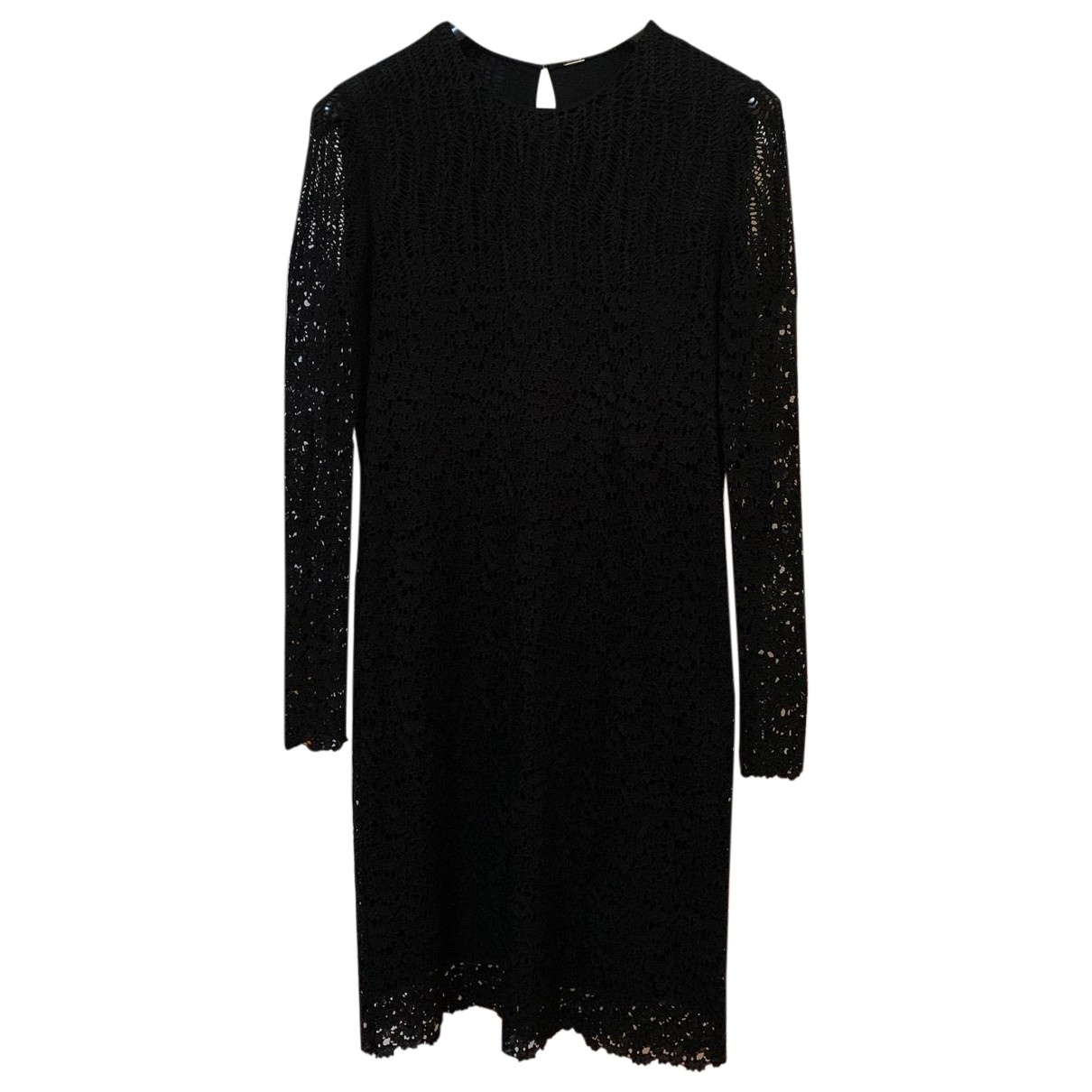 Adam Lippes \N Black Lace dress for Women 10 US