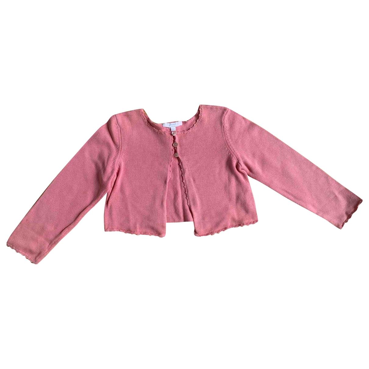 Jacadi - Pull   pour enfant en coton - rose