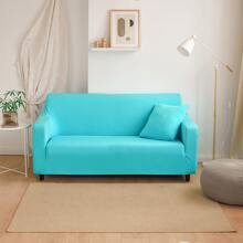 Plain Stretchy Sofa Cover Without Cushion