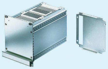 Schroff Ventilated Plug-in Unit, 3U, 10HP, 227mm Deep, Green