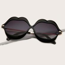 Mundrahmen Sonnenbrille Mit Etui