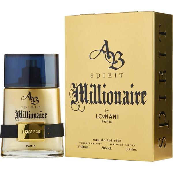 Spirit Millionaire - Lomani Eau de Toilette Spray 100 ML