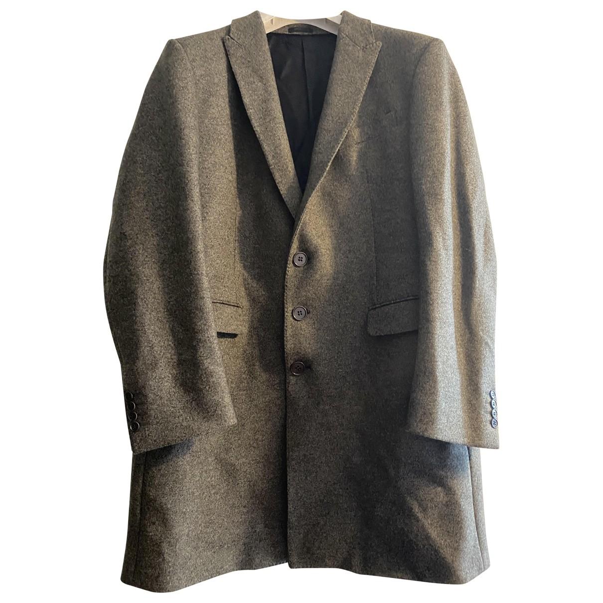 Armani Collezioni - Manteau   pour homme en laine