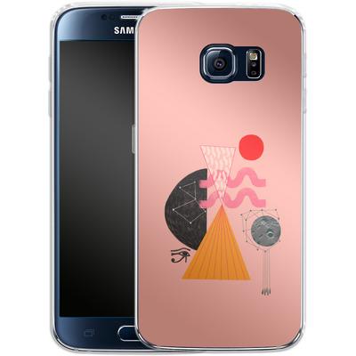 Samsung Galaxy S6 Silikon Handyhuelle - Sun-Exp von Victoria Topping