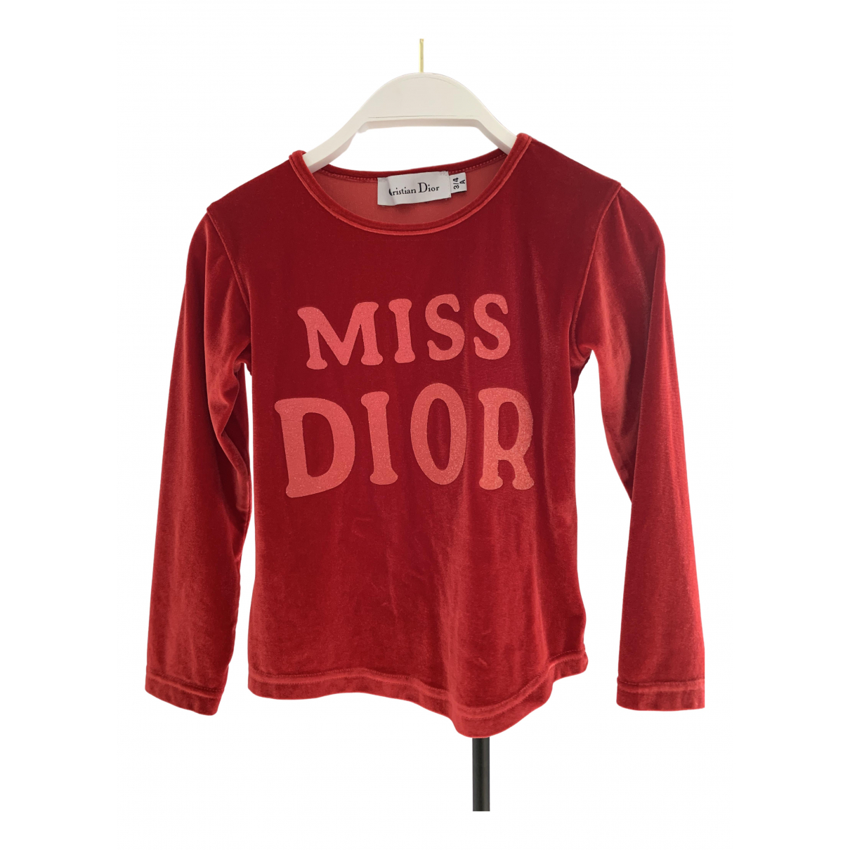 Dior \N Oberteile in  Rot Polyester