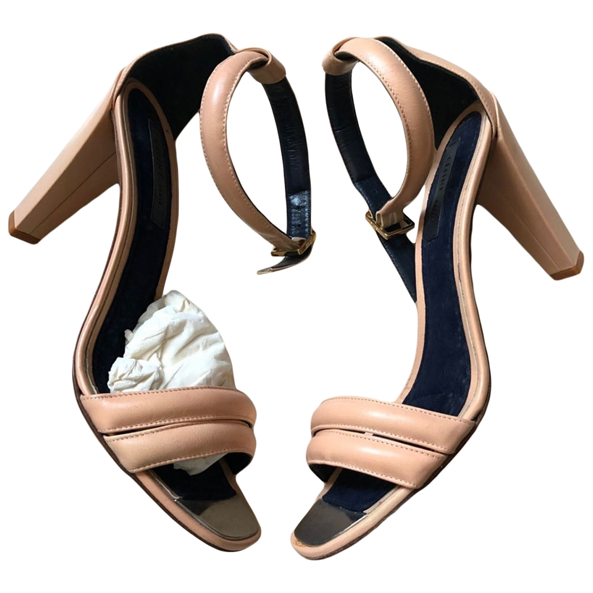 Sandalias de Cuero Celine