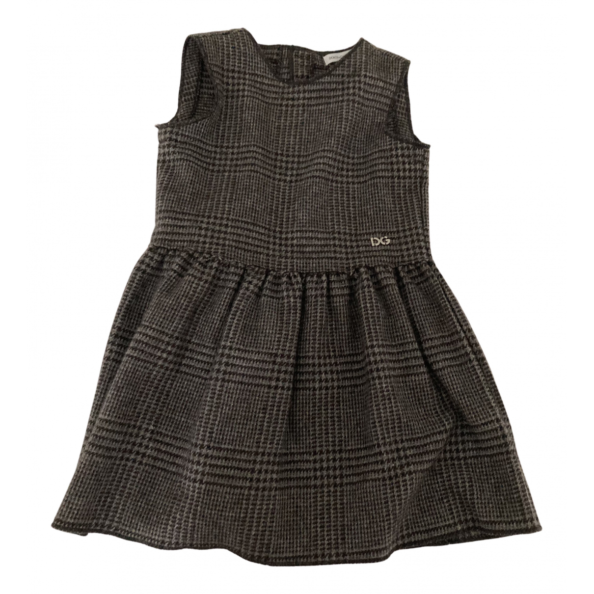 Dolce & Gabbana \N Kleid in  Grau Kaschmir