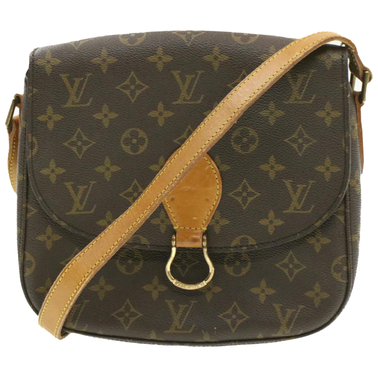 Louis Vuitton Petit Noe trunk Handtasche in  Braun Leinen