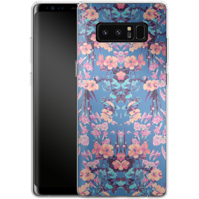 Samsung Galaxy Note 8 Silikon Handyhuelle - Ornamental Love von Zala Farah