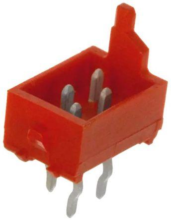 TE Connectivity , Micro-Match, 4 Way, 2 Row, Straight PCB Header