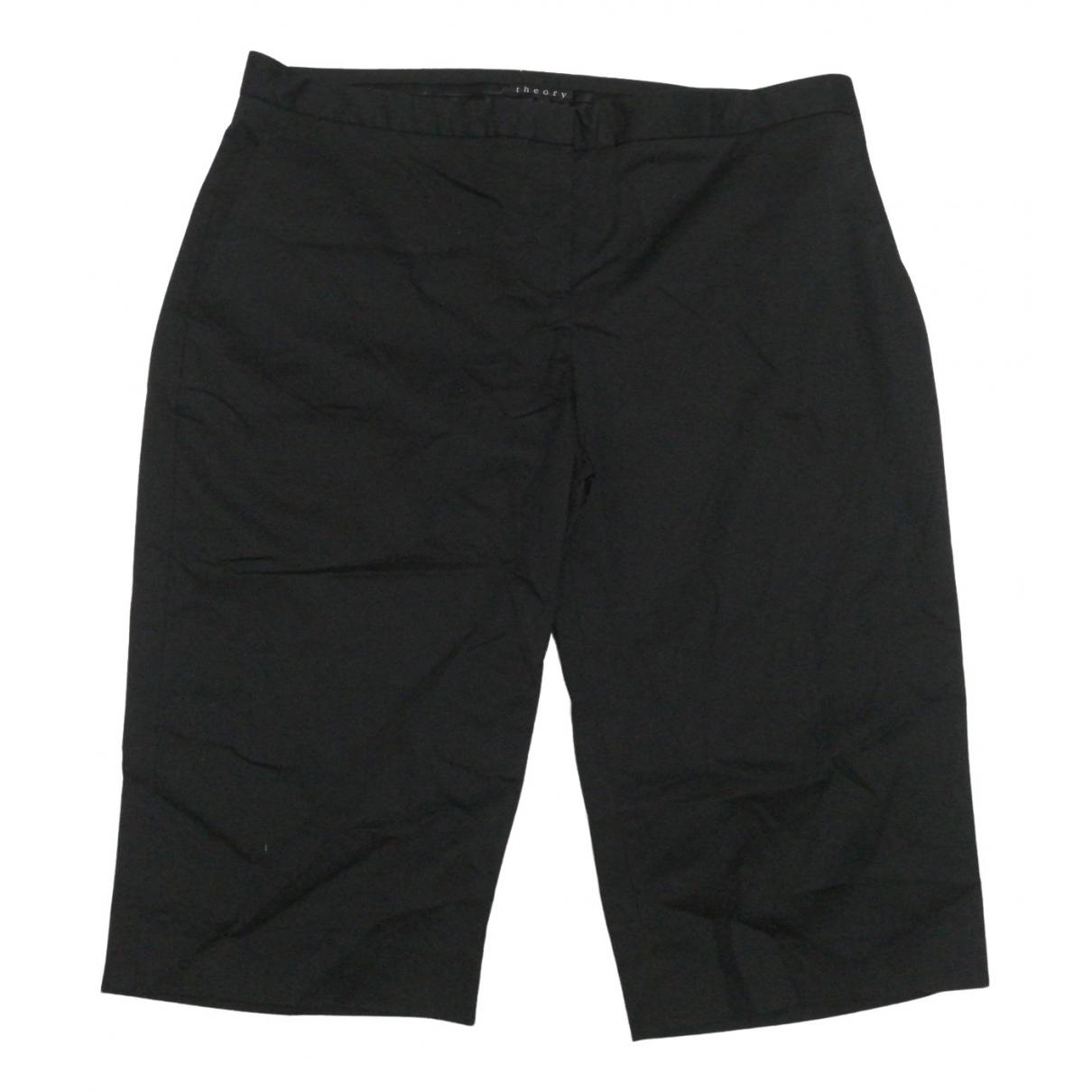 Theory \N Shorts in  Schwarz Baumwolle - Elasthan