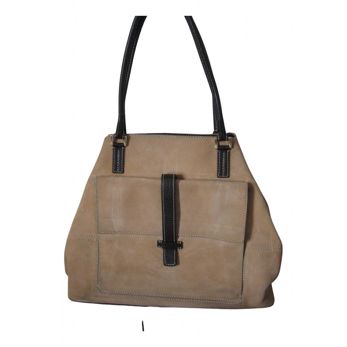 Loro Piana N Beige Suede handbag for Women N