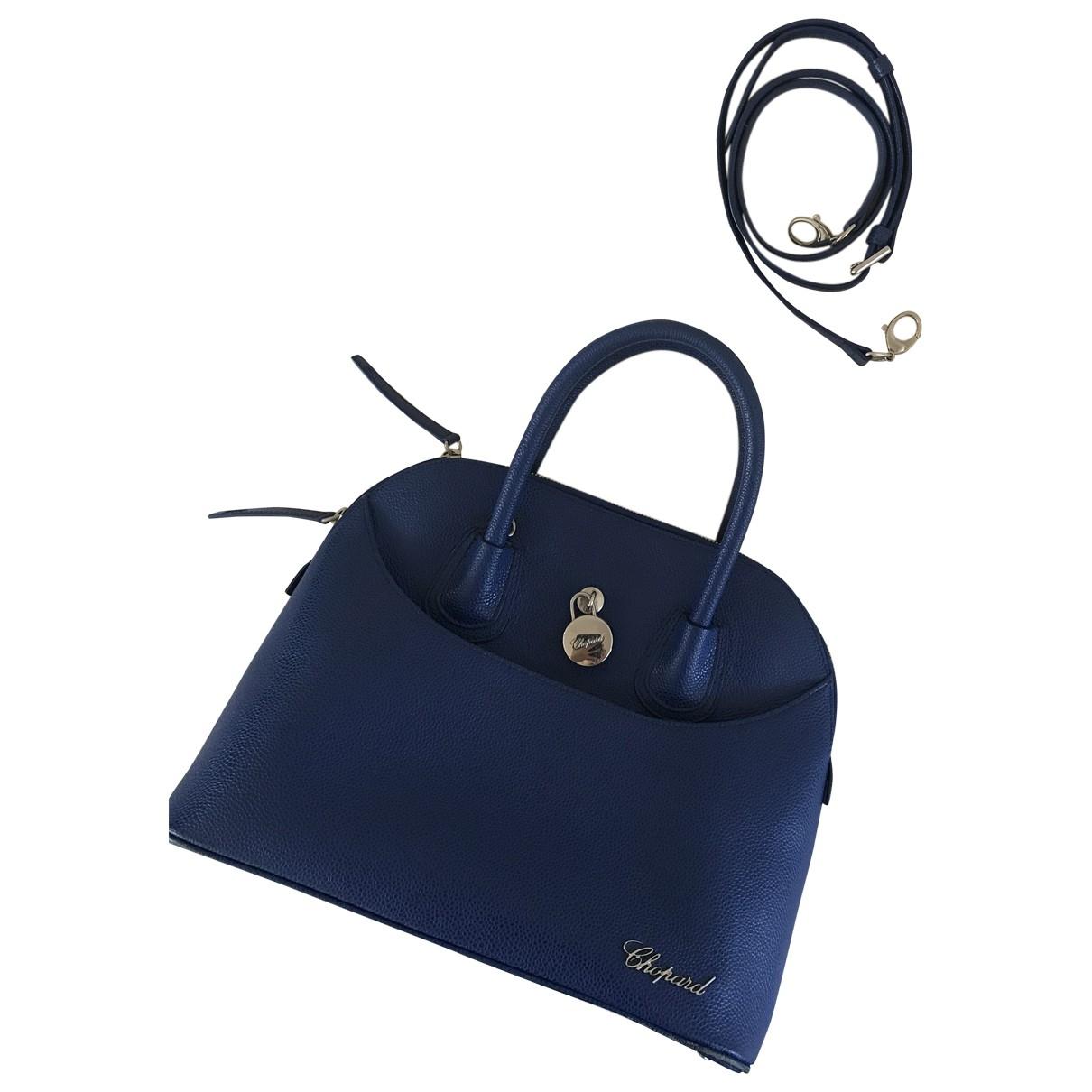 Chopard \N Handtasche in  Blau Leder