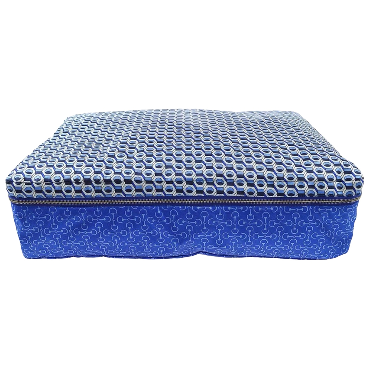 Hermes \N Accessoires und Dekoration in  Blau Seide