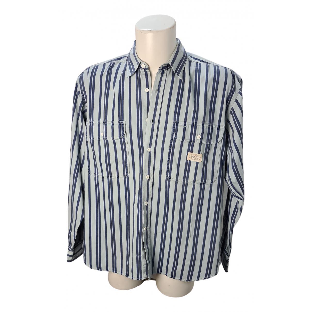 Levi's N Blue Cotton Shirts for Men L International
