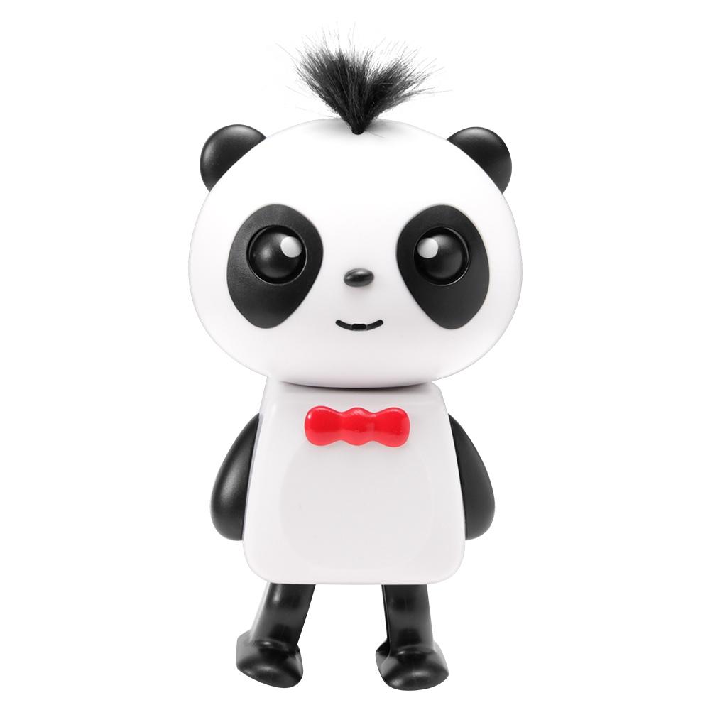 Music Panda Bluetooth Music Intelligent RC Robot Kid Toys - Black