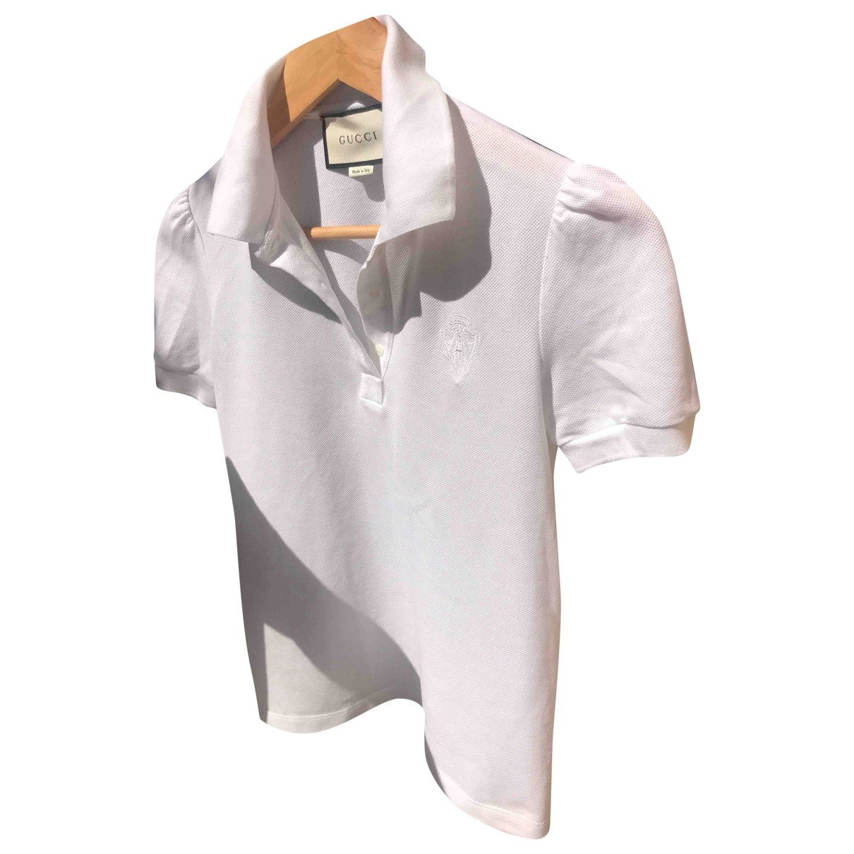 Gucci \N White Cotton  top for Women S International