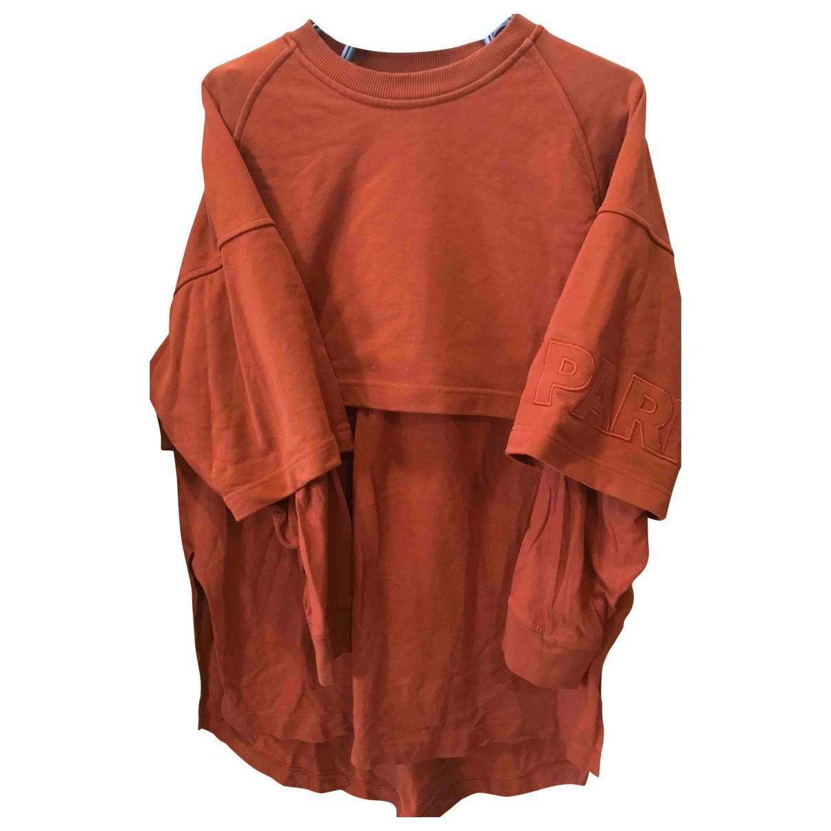 Ivy Park \N Orange Cotton  top for Women 14-16 US