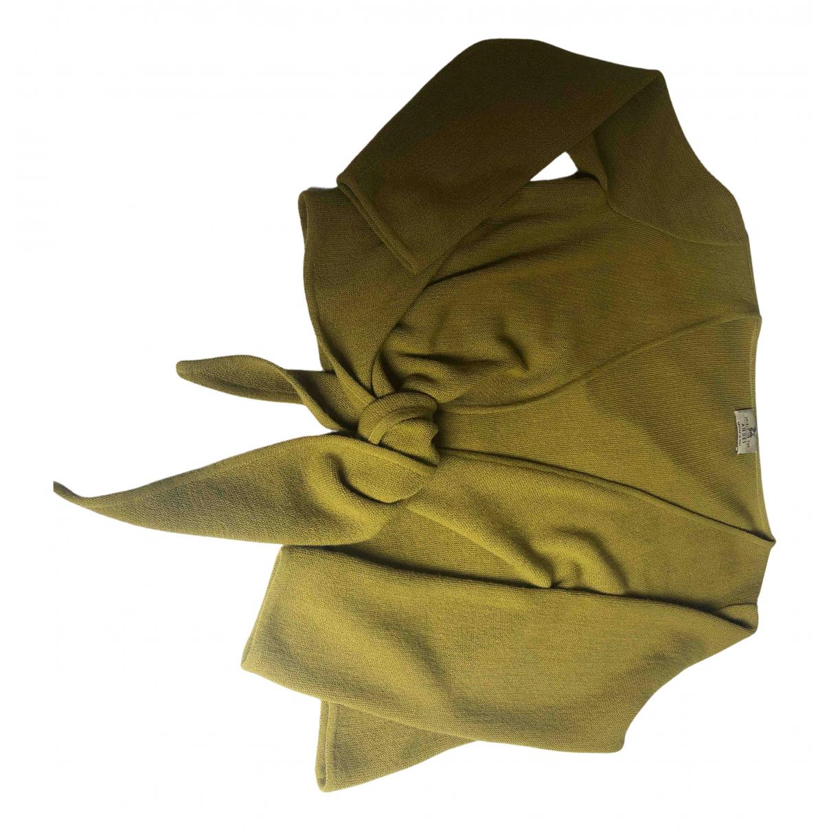 - Pull   pour femme en laine - vert