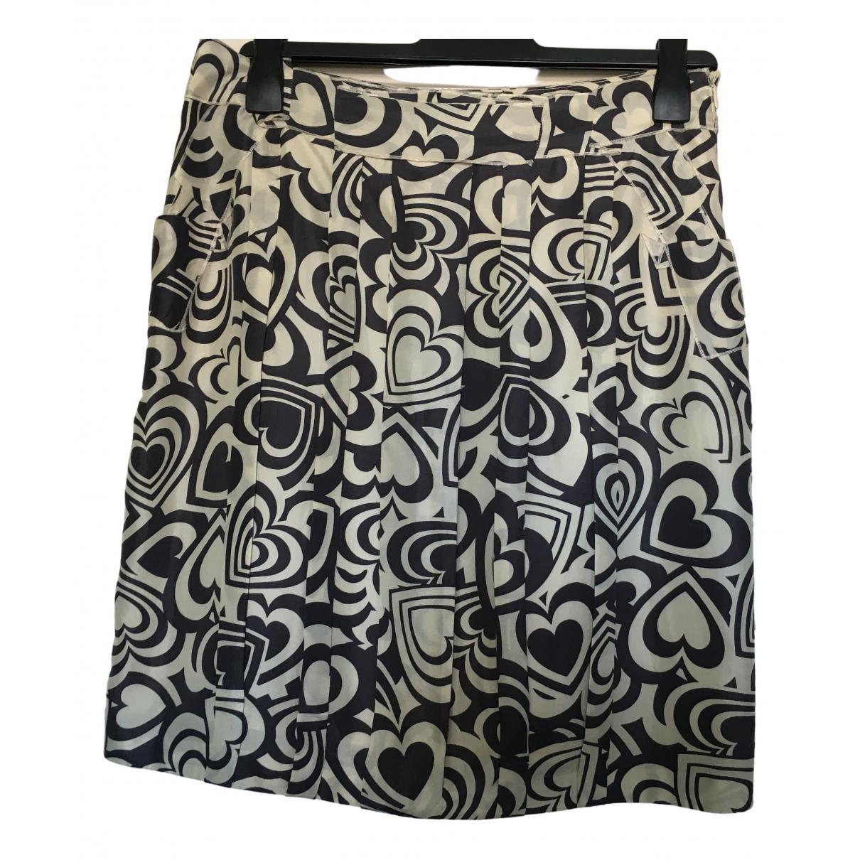 Moschino Love - Jupe   pour femme en soie - multicolore