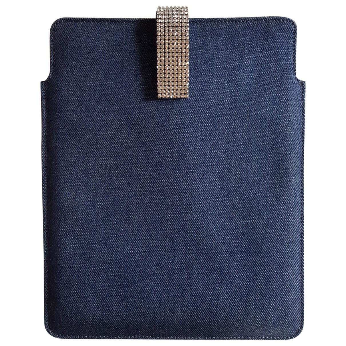 Swarovski \N Kleinlederwaren in  Blau Denim - Jeans