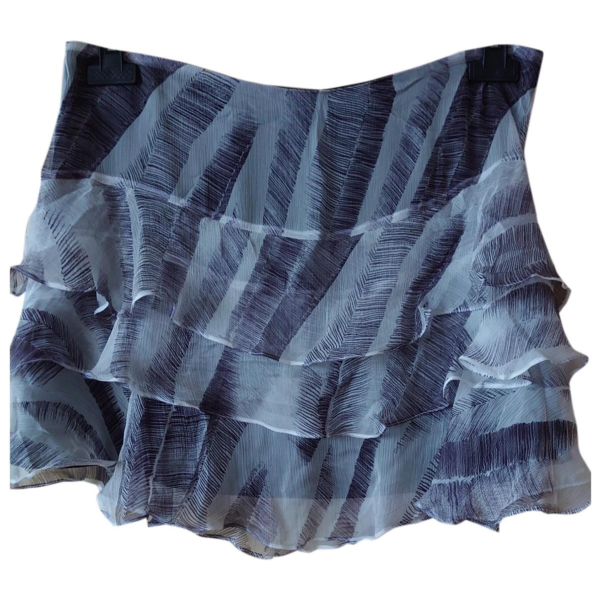 Vanessa Bruno Athe - Jupe   pour femme en soie - anthracite