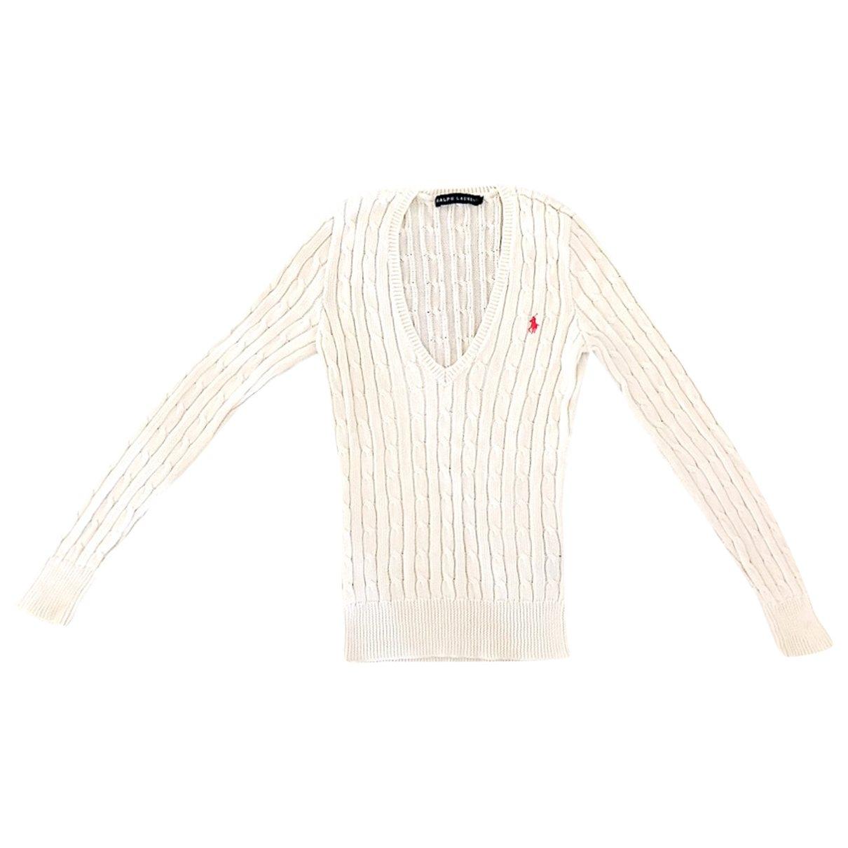 Ralph Lauren \N Pullover in  Weiss Baumwolle
