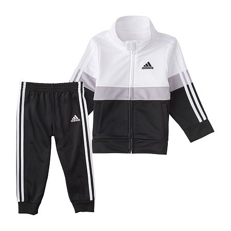 adidas Little Boys 2-pc. Pant Set, 5 , Black