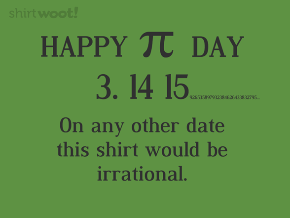 St Patrick's Pi T Shirt