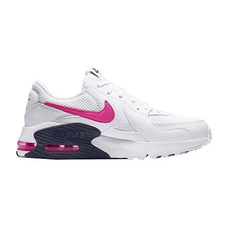 Nike Air Max Excee Womens Running Shoes, 7 Medium, White