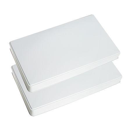 Range Kleen Round Burner Kover, One Size , White