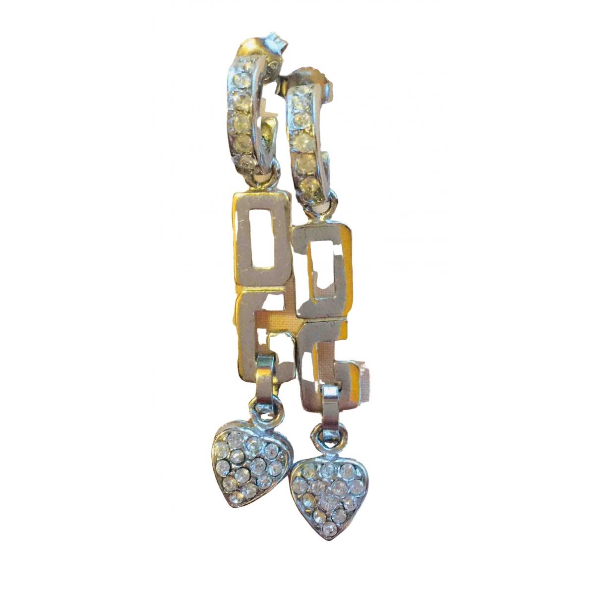 Dolce & Gabbana - Boucles doreilles   pour femme en cristal - argente