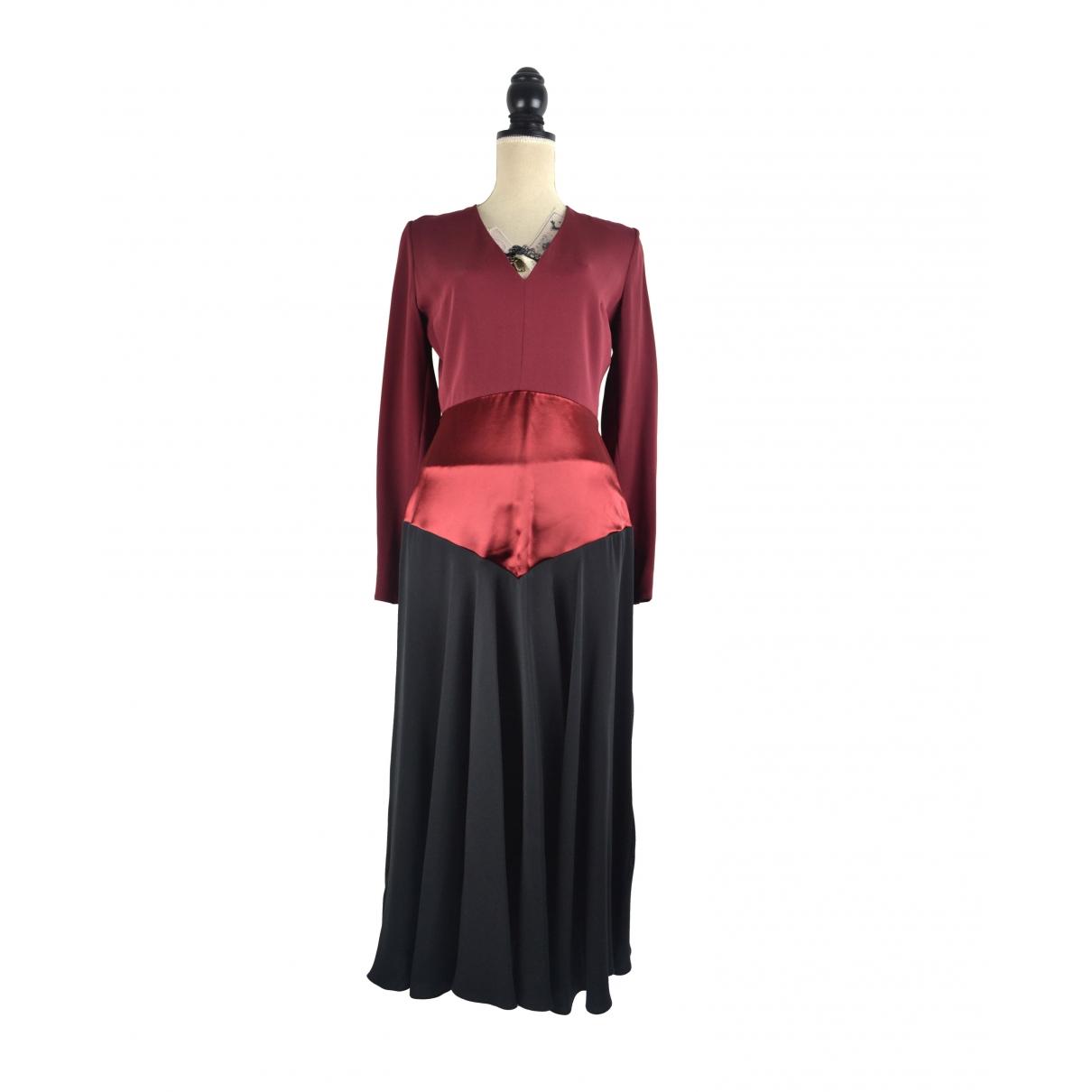 Roksanda \N Burgundy Silk dress for Women 10 UK