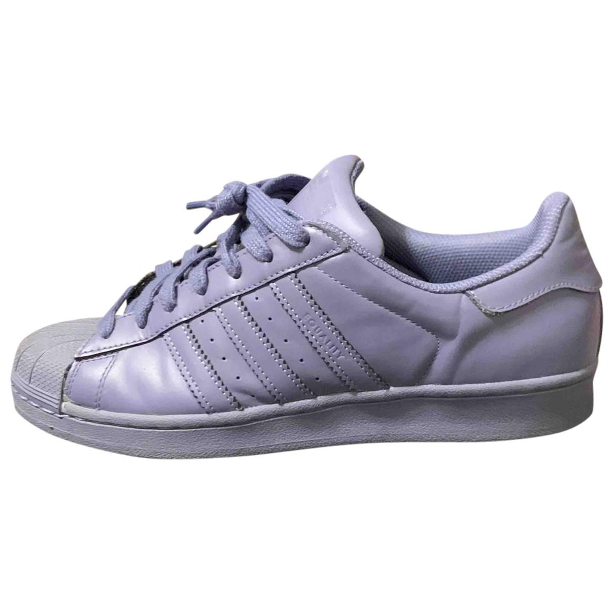 Adidas X Pharrell Williams - Baskets   pour homme en caoutchouc - gris