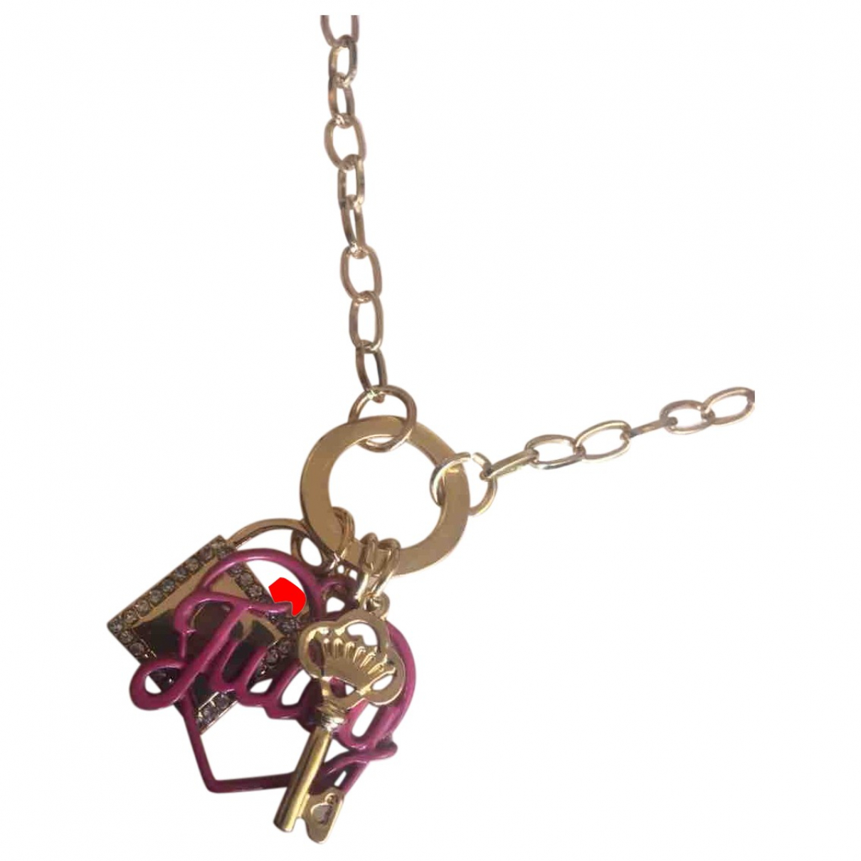 Juicy Couture \N Metal necklace for Women \N