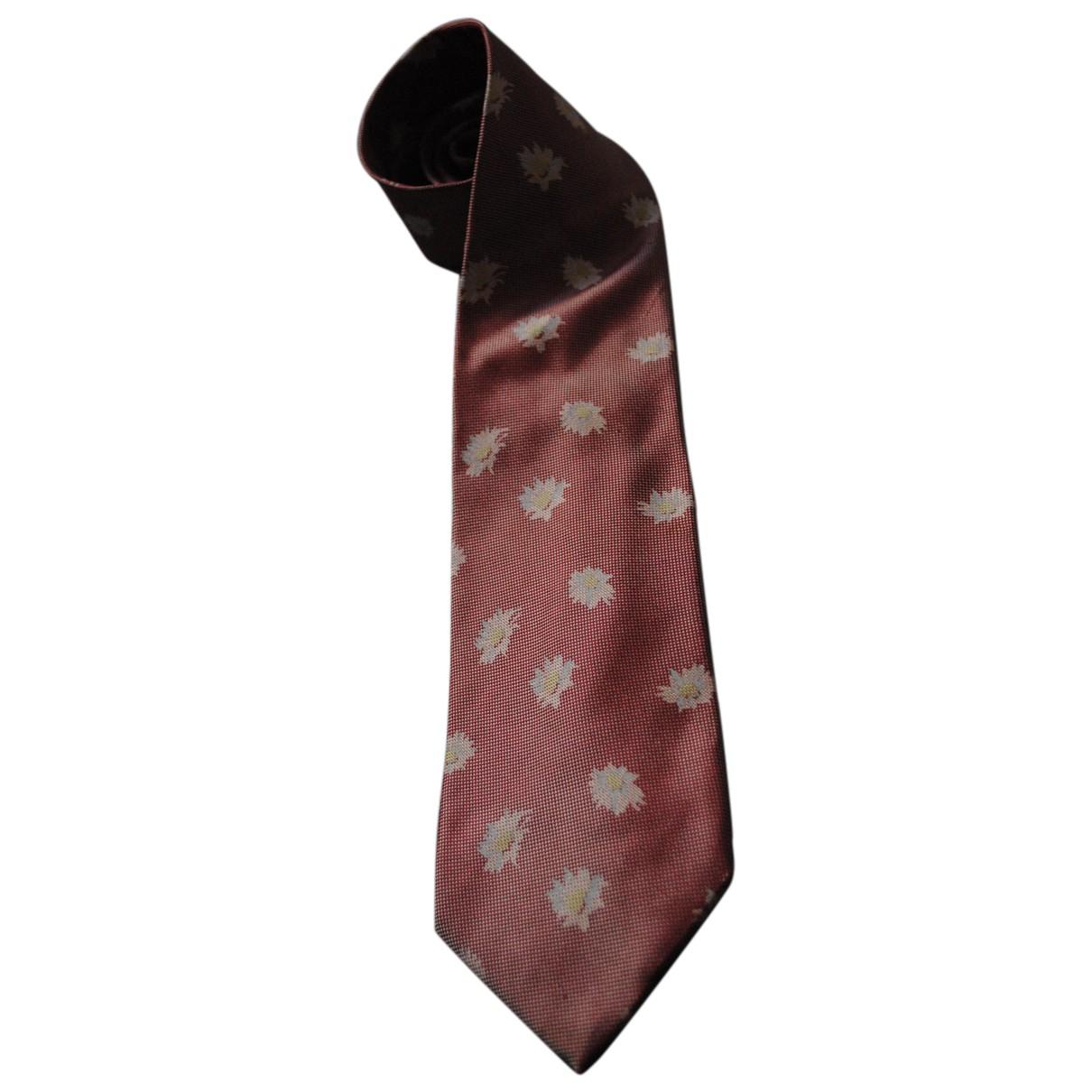 Burberry N Pink Silk Ties for Men N