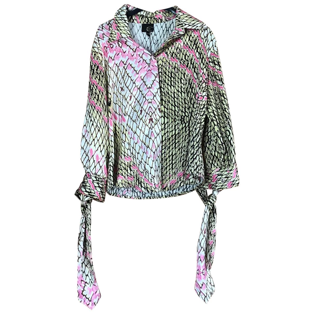 Just Cavalli \N Multicolour Silk Knitwear for Women 44 IT