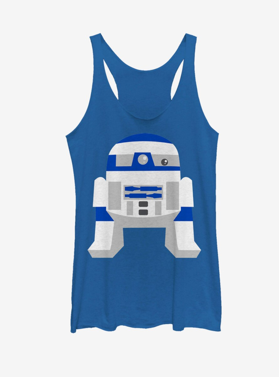 Star Wars Cute Cartoon R2-D2 Womens Tank