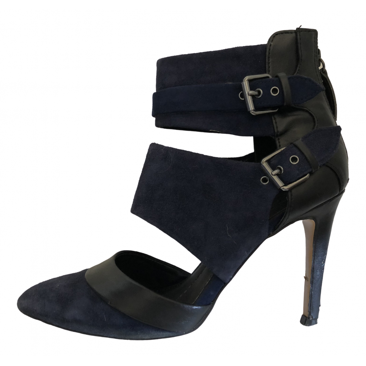 Dolce Vita \N Blue Suede Heels for Women 6.5 US