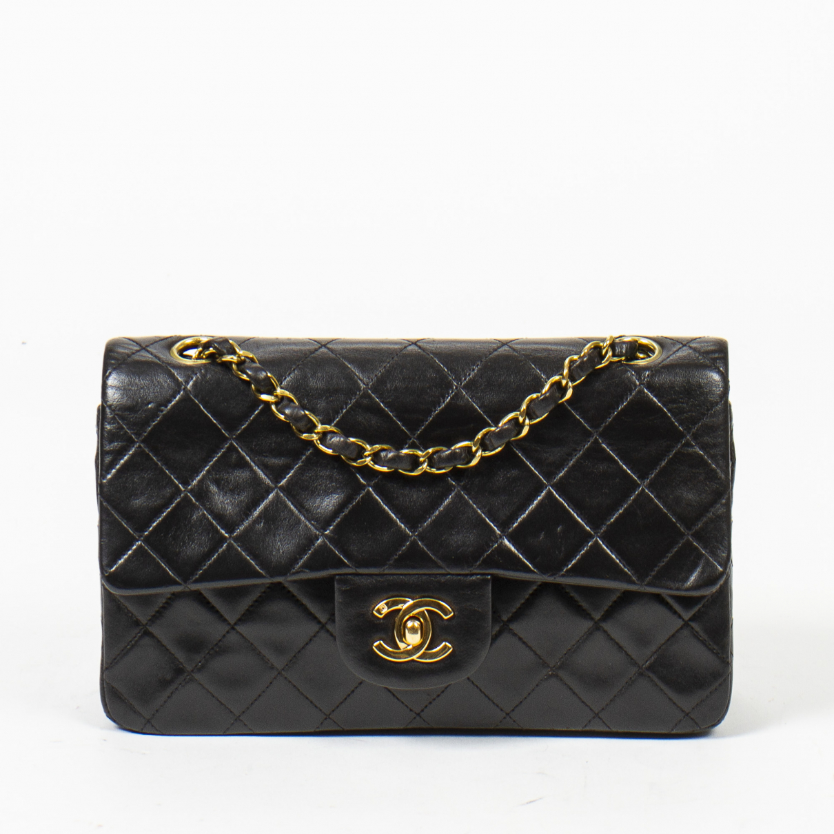 Chanel Timeless/Classique Black Leather handbag for Women \N