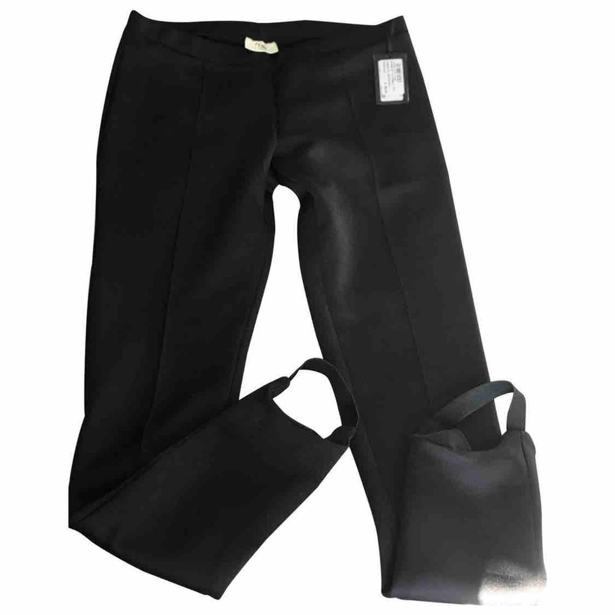 Fendi - Pantalon   pour femme - noir