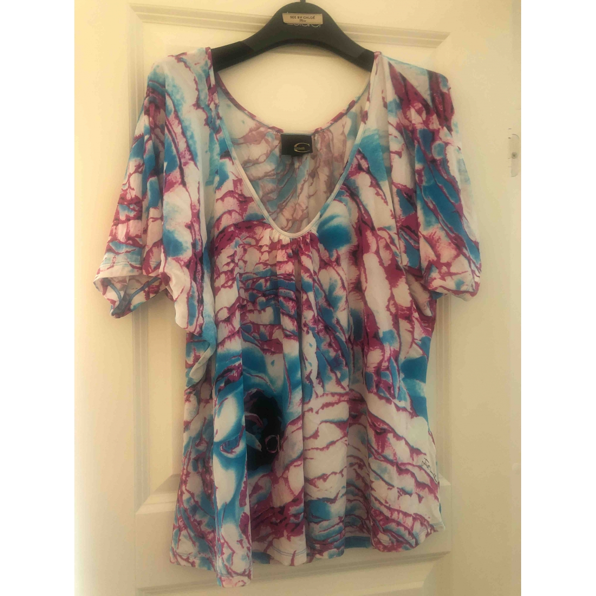 Class Cavalli \N Multicolour  top for Women 40 IT