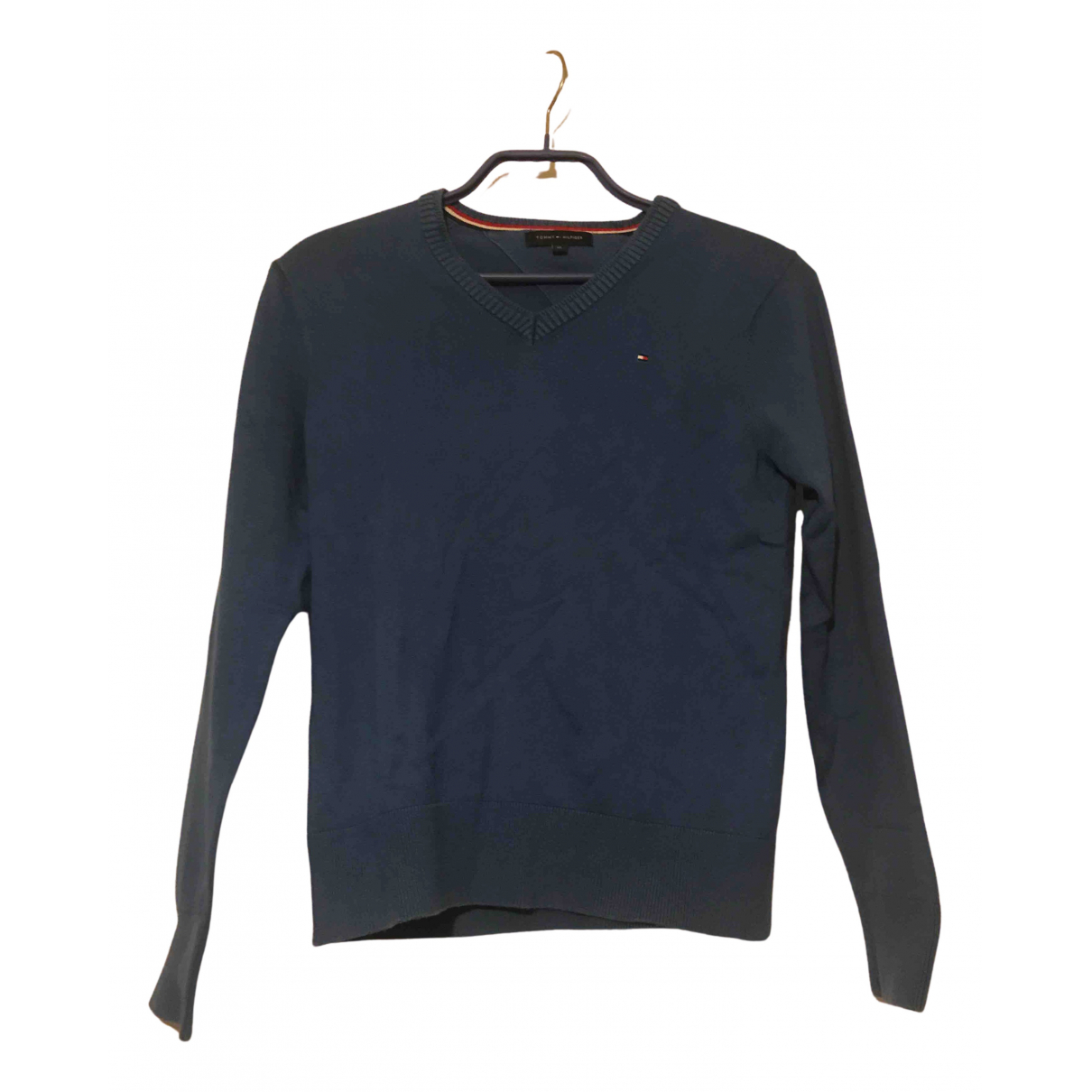 Tommy Hilfiger N Blue Cotton Knitwear for Kids 10 years - up to 142cm FR