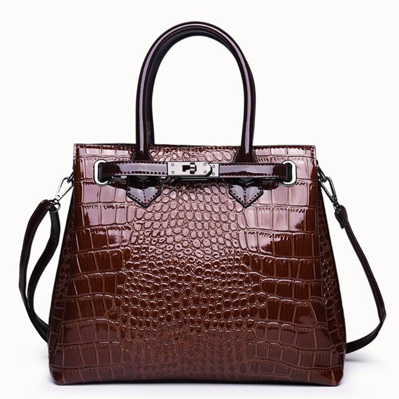 Ericdress PU Thread Alligator Rectangle Tote Bags